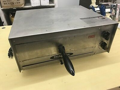 "Fusion Commercial Countertop 12"" Pizza and Snack Oven 508 Used Works Fine"