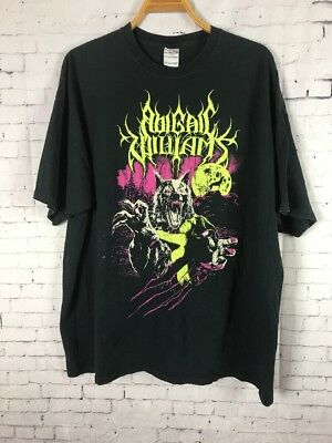 5d7aeb1cecb0 Abigail Williams Shirt 2Xl Size Men s Black Tee North American Metal Band  ...