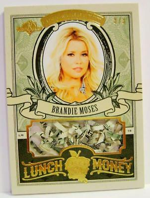 Brandie Moses Lunch Money U.s. Currency /3 Hot For Teacher Bench Warmer Rare