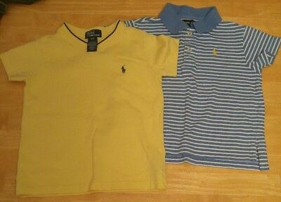 Lot Of 2 boys 3T Ralph Lauren Polo Shirts, Polo and v-neck