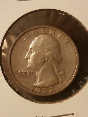 1937 S Washington Quarter No Reserve!