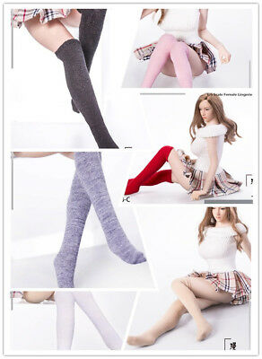 1/6 Manmodel MM08 Female Cotton Stockings Long Socks Clothes Fit 12'' Body