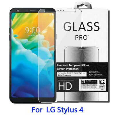 9H 0.3mm Real Tempered Glass Screen Protector For LG Stylo 4 LG Stylus 4 2018