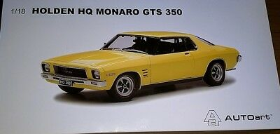 1:18 Biante Holden HQ GTS 350 Monaro Coupe in Yellow Dolly