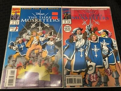 The Three Musketeers Comic Book Set of 2