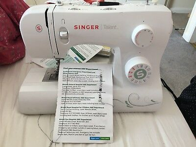 Singer Talent 3321 Sewing Machine Faulty Spares