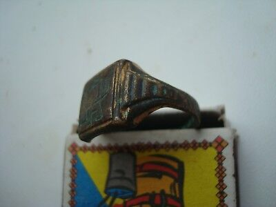 WWII German ring with the initials of a German soldier WW2