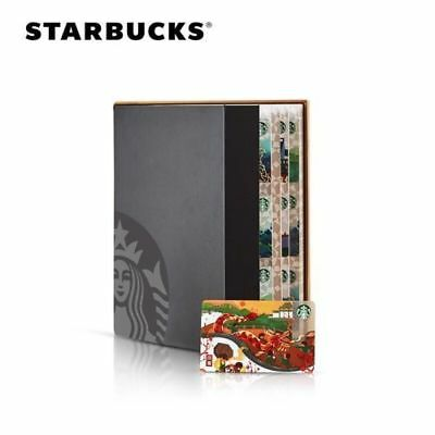 2018 Starbucks China 26pcs city Gift  Card With Limited Gift Box Set PIN Intact