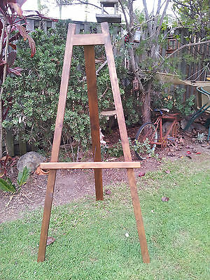 Timber Display Easel Menu Boards Restaurant Cafe Coffee Shop Conference Bar Home