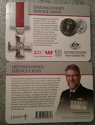 2017 Legends of the Anzacs Collection Distinguished Service Cross 20 Cents Coin