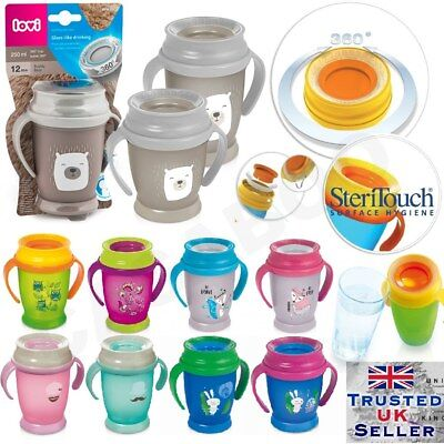 glass-like DRINKING CUP LOVI 360 Baby Child Todler Training Learning SteriTouch
