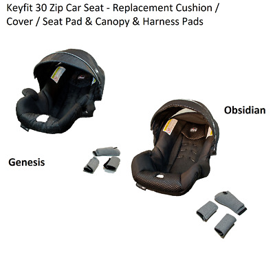 Replacement Chicco KeyFit 30 Zip Infant Car Seat Cover Canopy Pads PICK COLOR