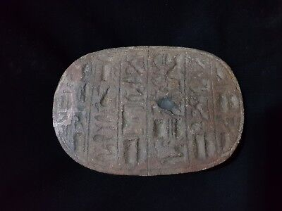 RARE ANCIENT EGYPTIAN ANTIQUE Scarab Collection of Scarab 1210-1140 BC