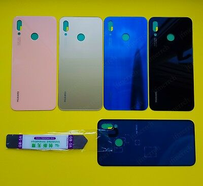 For Huawei P20 Lite Rear Glass Battery Back Cover Housing Adhesive Replacement