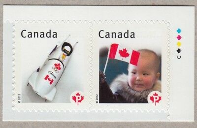 Variety =Corrected Spelling= LUEDERS =CUT w/Colour dots Canada 12 #2502a [ec129]