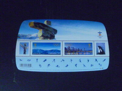 CANADA  Souvenir Stamp Sheet S/S - Vancouver 2010 Olympic Winter Games