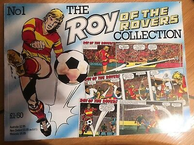 Vintage The Roy of the Rovers Collection No1. 48 page book.  Excellent condition