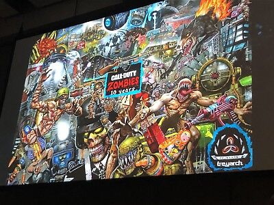 Art Black Ops 4 COD Zombies SDCC Comic Con 2018 10 Years Poster 20x30 24x36 P264