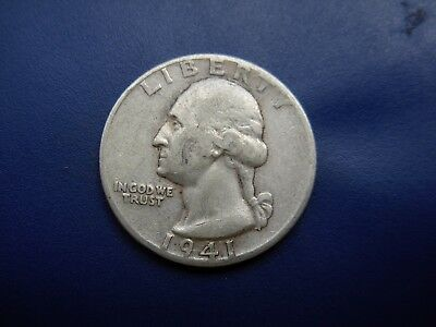 Very Nice 1941-D VF Washington quarter. #2
