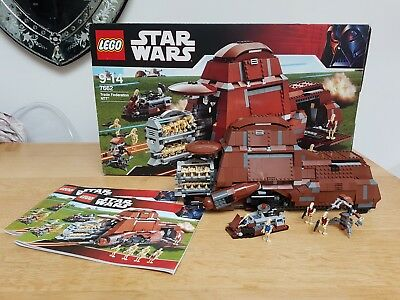 Lego Star Wars 7662 Trade Federation Mtt 100 Complete With Box And