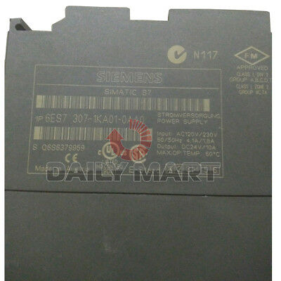 Used tested work 100% SIEMENS 6ES7 307-1KA01-0AA0