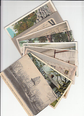 Lot of 10 Vintage Era Postcards Lexington MASS Massachusetts Middlesex County MA