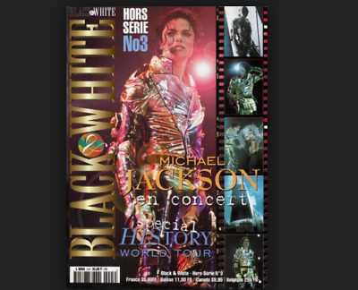 Michael Jackson History Special Hors Series N.3 Live Tour Images French No Promo