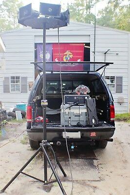 Rare Iml Corp. Sound Commander 3500/3600 Pa System Ultra Loud Clear See Pic $18K