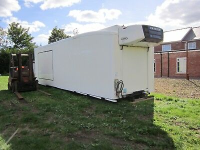 Refrigeration  Container  31ft long  2 compartments, fridge / freezer  year 2011