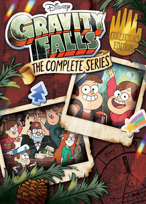 GRAVITY FALLS - THE COMPLETE SERIES   - DVD - Region 1 - Sealed