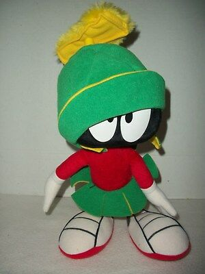 """14"""" Vintage Applause 1994 Looney Tunes Marvin the Martian Plush"""
