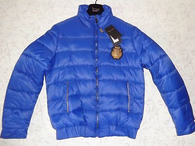 Billionaire Italian Couture Winter Down Jacket 54 XL Bomber Made in Italy
