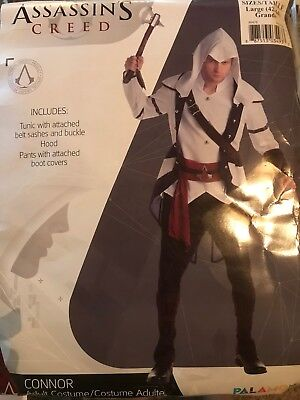 Assassins Creed Conner Costume Size Large