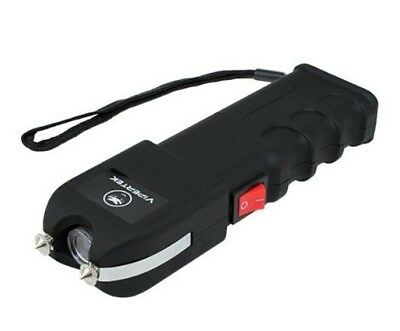 VIPERTEK VTS989 - 180 BV Self Defense Rechargeable LED Stun Gun with Holster