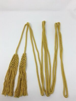 Cincture Rope with Tassels Vestment Clergy for Prist or Minister Yellow