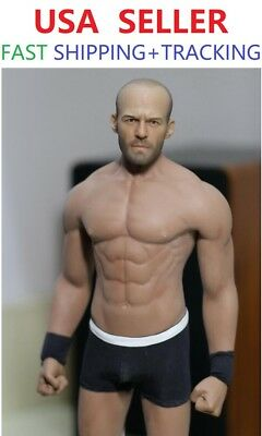 Custom 1//6 Scale David Beckham w// PHICEN M33 1//6 Seamless Male Muscular Body Set