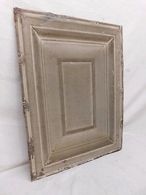 "18"" x 24"" Antique Tin Ceiling Tile - C. 1890 Framed Design Architectural Salvage"