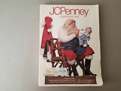 JCPENNEY CHRISTMAS CATALOG 1980