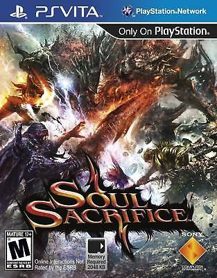 Soul Sacrifice Playstation PS Vita Brand New in Stock From Brisbane