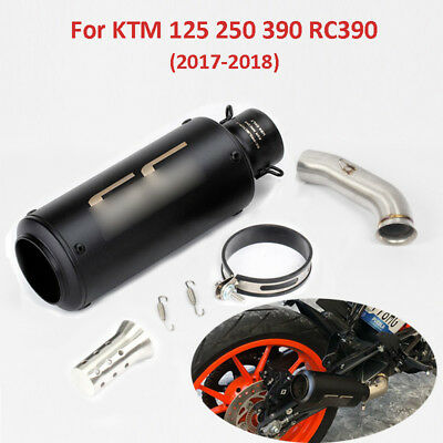 Slip on for KTM 125 250 390 2017 2018 Motorcycle Exhaust System Middle Link Pipe