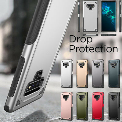 For Samsung Galaxy Note 10 Plus A8 2018 S10 Hybrid Bumper Rugged Hard Cover Case
