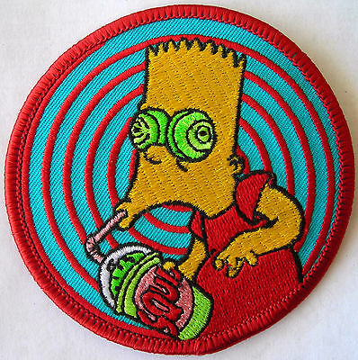 Simpsons Patch Bart Squishee Licensed awesome