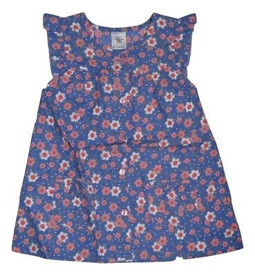 Charlie & Me Baby Girls Summer Dress Sleeveless - Floral Size Nb 000 00 0