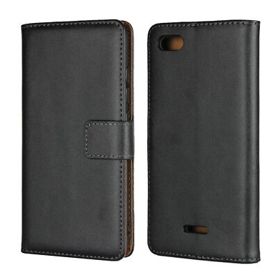 Magnetic Genuine Leather Card Slot Wallet Phone Case Cover For Xiaomi Redmi 6A