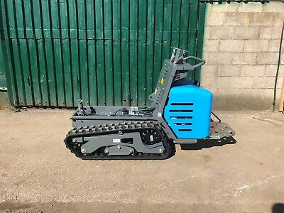 New Tracked Messersi High-Spec Chassis Convert- Mini Piling Drilling Rig Crusher