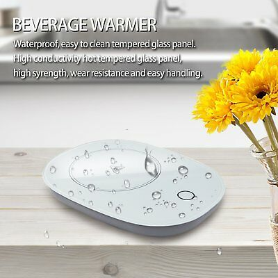 Coffee Cup Warmer for Office/Home Use Up to 131℉ 55℃ Safely Mug Warmer Cup