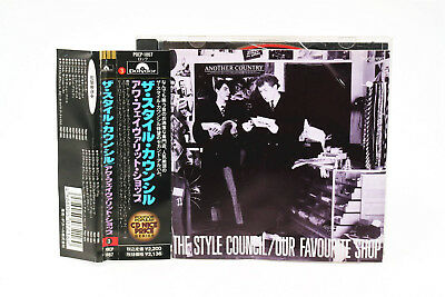 The Style Council/our Favourite Shop Pocp-1867 Japan Cd Obi A5759