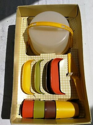 Vintage Tupperware Home Parties Mini-Party Set Complete In Box