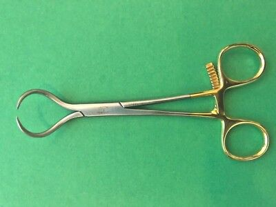 "Bone Reduction Holding Forceps 6"" Curved With Ratchet Orthopedic Instrument"