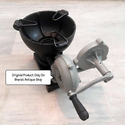 Forge Furnace With Hand Blower Pedal Type Handle Collectible Blacksmith